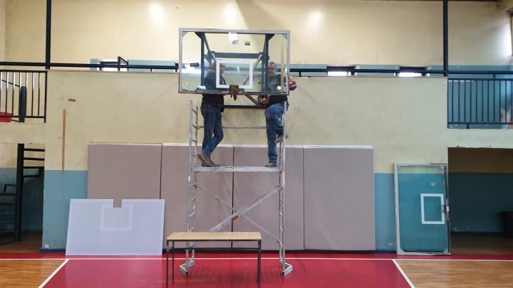 HKK Zrinjski rekonstruiše školsku dvoranu ''Đački dom''