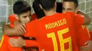 Španija povela golom Mendeza