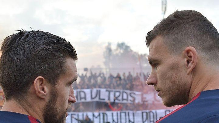 Užarena atmosfera na treningu Rome