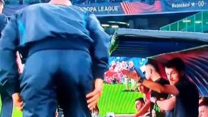 Spalletti došao do klupe Spartaka da se pozdravi, ali nije znao ko je glavni trener