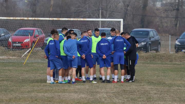 Fudbaleri FK Tuzla City spremno dočekuju utakmicu sa FK Sarajevo