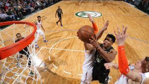 Antetokounmpo nezaustavljiv za Knickse, 76ersi jači od Heata, Utah razbila Sunse