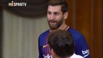 "Zbunjeni Casillas upoznao ""lažnog"" Messija"