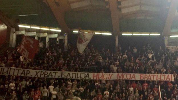 Surov doček Alena Omića u dresu Zvezde: Šiptar, Hrvat, balija, nisu moja bratija!