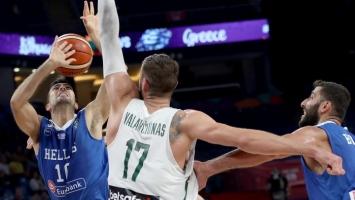 Sjajna Grčka poslala Litvance kući