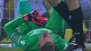 Horor povreda bh. golmana, sa terena iznesen na nosilima