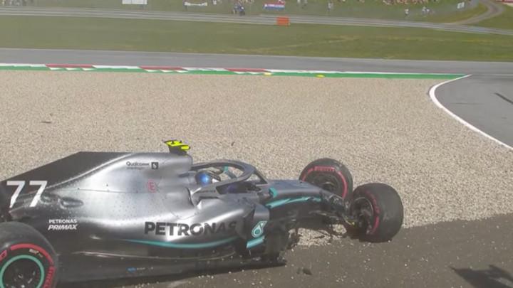 Verstappen i Bottas uništili bolide, Vettel se izvukao za dlaku