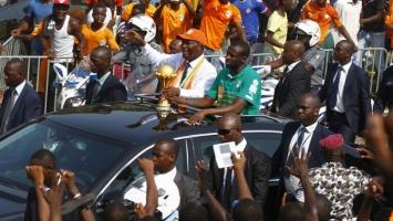Nevjerovatan doček za reprezentaciju Obale Slonovače