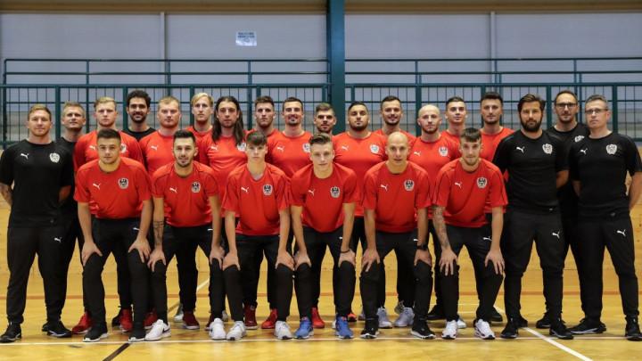 Nevjerovatan sastav futsal selekcije Austrije: Dino, Alen, Vahid, Josip, Mirza...