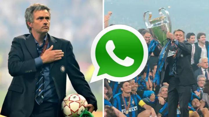 """Mourinho stvorio porodicu: """"Još uvijek imamo WhatsApp grupu sa svim igračima Intera iz 2010. godine"""""""
