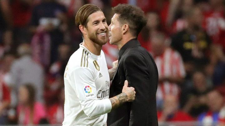Simeone bjesnio zbog Ramosa i sudije: Imaš ovako mala m**da