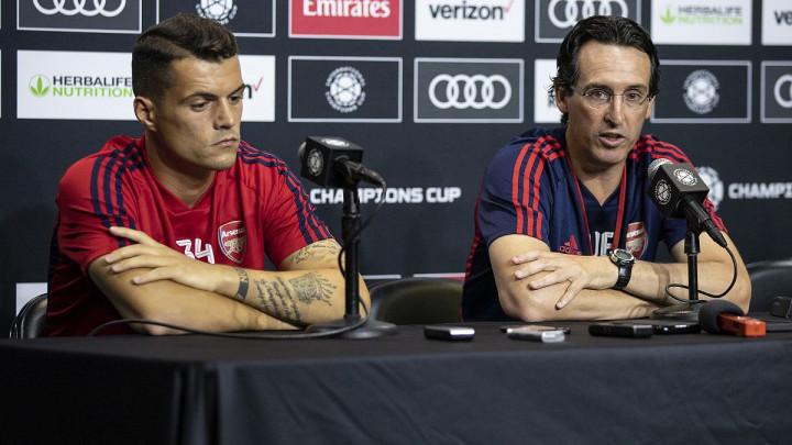 Emery: Ne znam da li će Xhaka ponovo igrati za Arsenal