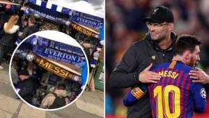 Provokacija godine: Šal s imenom Lionela Messija na štandovima navijača Evertona