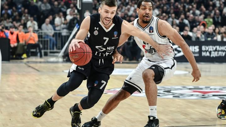 Nemanja Gordić i Partizan na otvaranju Top 16 faze Eurocupa razbili Virtus iz Bologne