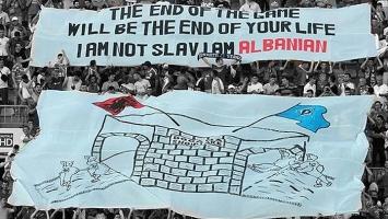 Morbidna poruka albanskih navijača začudila svijet