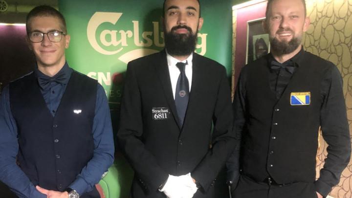 Mario Željo Milošević osvajač drugog kola Carlsberg snooker prvenstva BiH