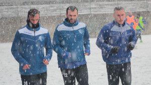 Polarni uslovi obilježili prvi trening Sloge pred drugi dio sezone