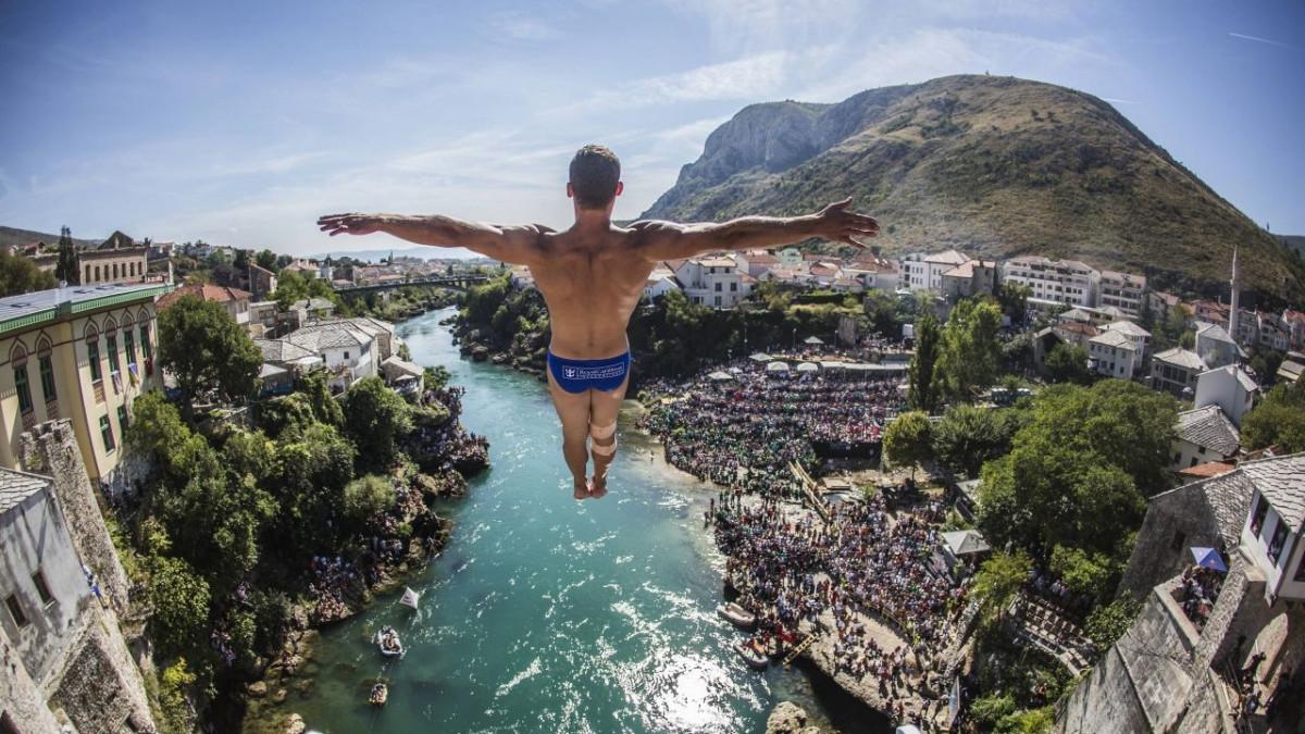 Red Bull Cliff Diving u augustu po peti put na Starom mostu