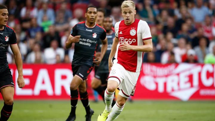 Van de Beek sinoć najavio transfer karijere