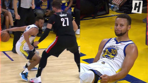 Nurkićev double-double protiv Warriorsa, ali je bio žrtva Curryjeve magije