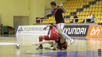 Finale Kupa u futsalu: Zrinjski u Sarajevu ostao neporažen