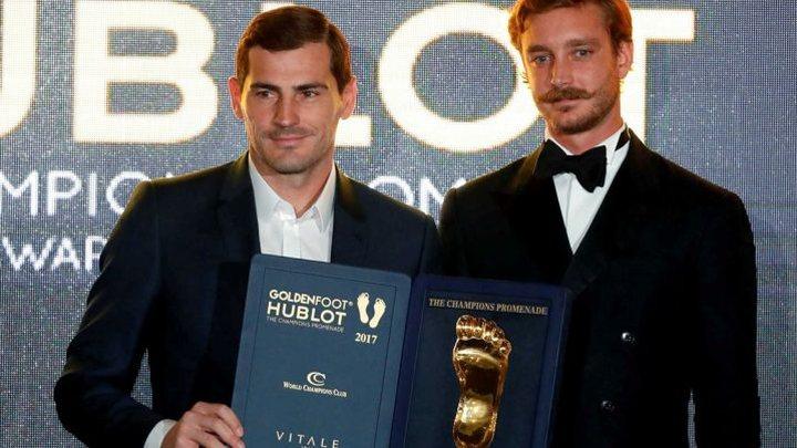 """Casillas osvajač nagrade """"Golden Foot"""""""