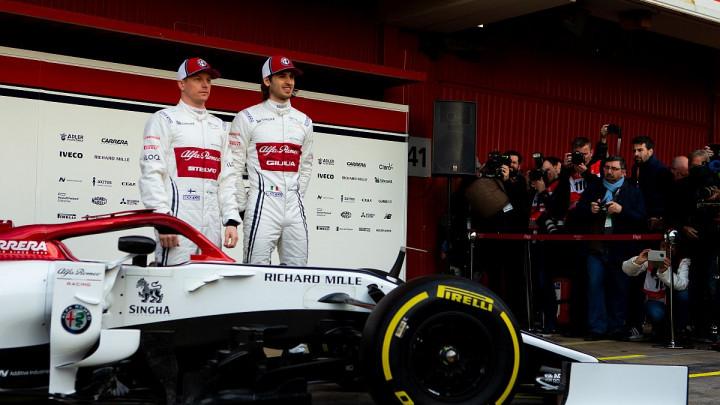 Nezgoda na testiranju: Raikkonen u novoj Alfi izdržao pet minuta
