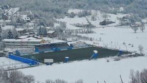 U Krupi na Vrbasu sve pod snijegom osim fudbalskog terena FK Krupa