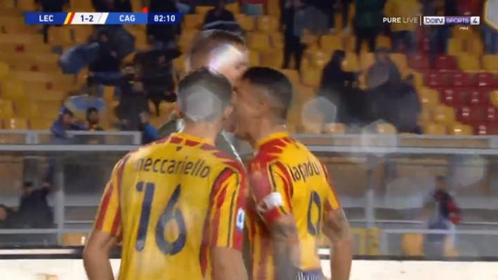 Igrači Leccea i Cagliarija poput krvoločnih životinja
