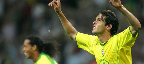 Kaka predvodi Brazil protiv Zmajeva