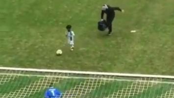 Dječak postigao gol pa 'skinuo u orginalu' Ronalda