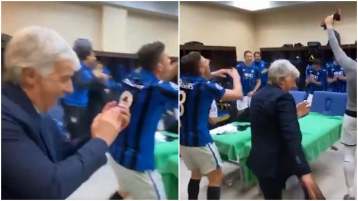 Trener Atalante nakon velike pobjede postao hit na društvenim mrežama zbog svog 'posebnog plesa'