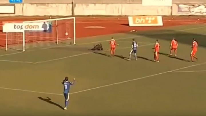 Arežina u stopostotnoj šansi, Bobić bravurozno spasio svoj gol