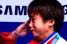 Djevojčica iz Sjeverne Koreje se rasplakala slušajući himnu