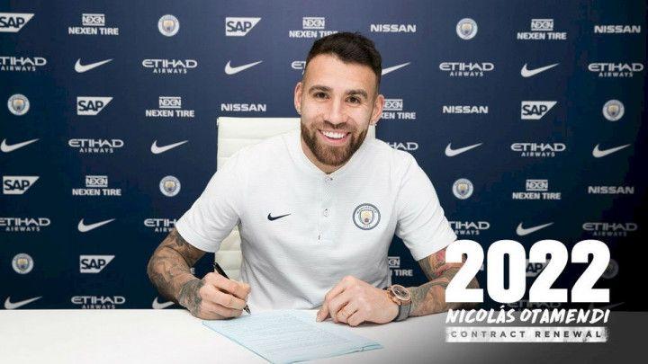 Nicolas Otamendi produžio sa Manchester Cityjem
