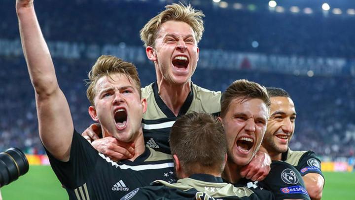 Frenkie de Jong zna šta uraditi ako Ajax bude igrao u finalu protiv Barce