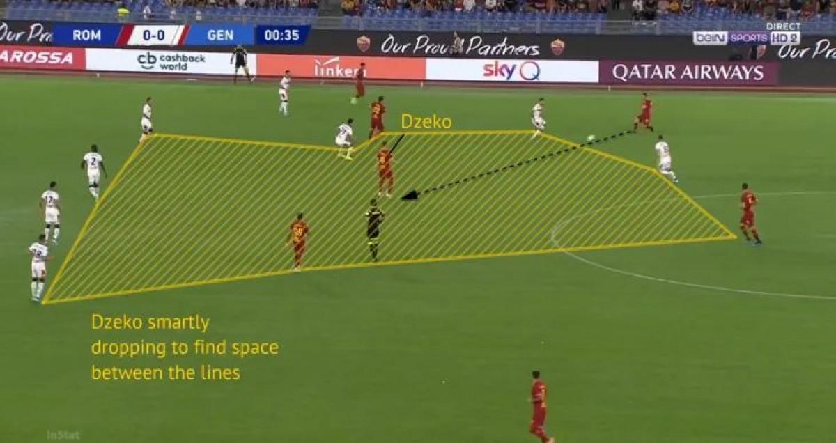 S razlogom je ostao u Romi: Edin Džeko se odlično uklopio u sistem igre koji traži Fonseca