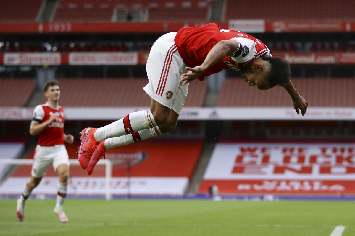 Aubameyang oborio rekord Henryja