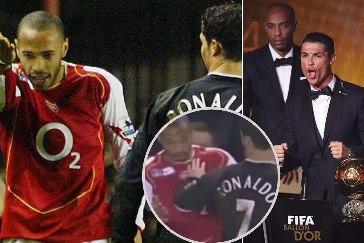 """Henry je pokušao da stane na crtu golobradom Ronaldu, na kraju je završio """"skamenjen"""""""
