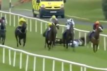 Užasan pad: Jahačica slomila vrat, a konj uginuo