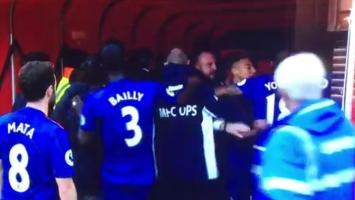 Igrači Middlesbrougha i Uniteda se obračunavali u tunelu