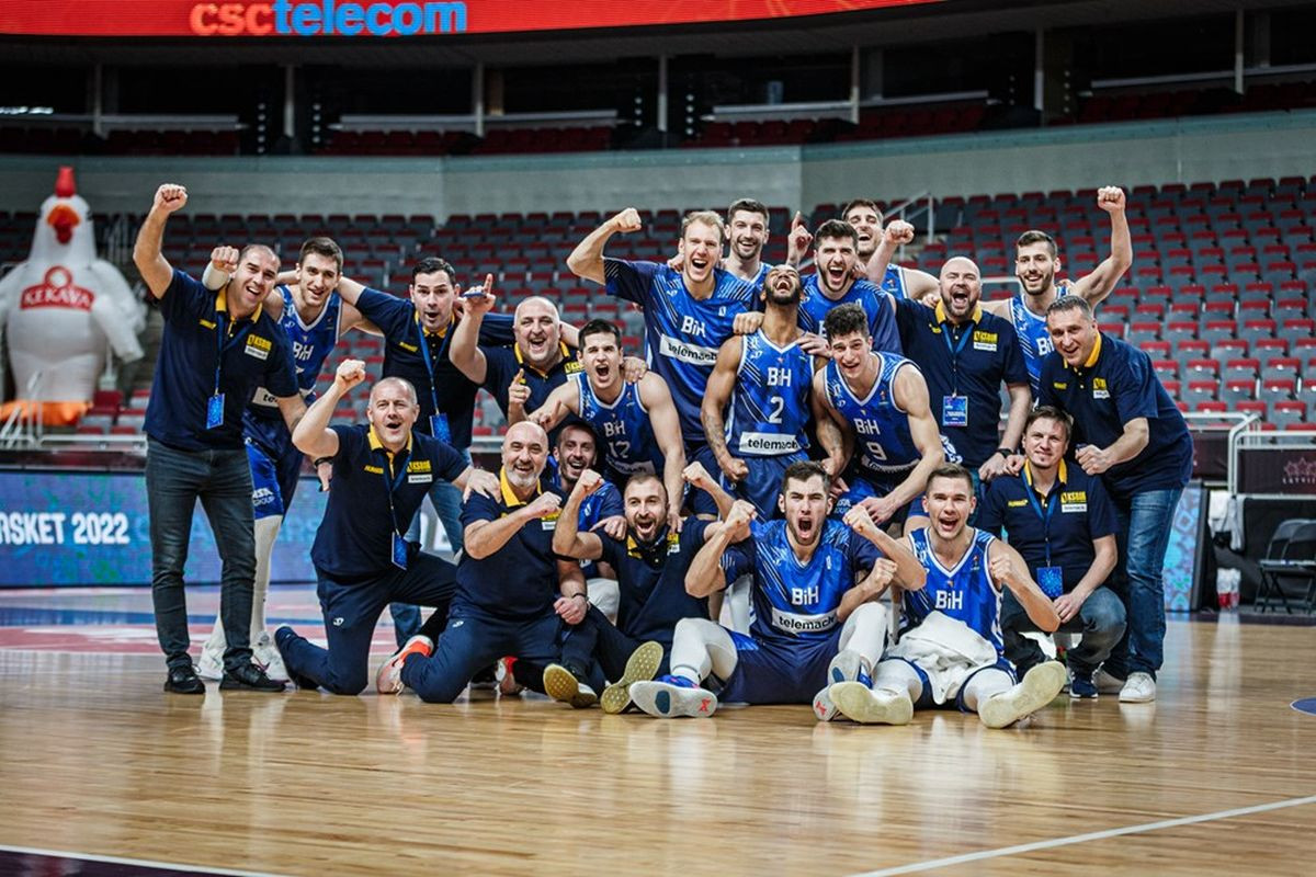 Košarkaška reprezentacija BiH saznala rivale u kvalifikacijama za Svjetsko prvenstvo