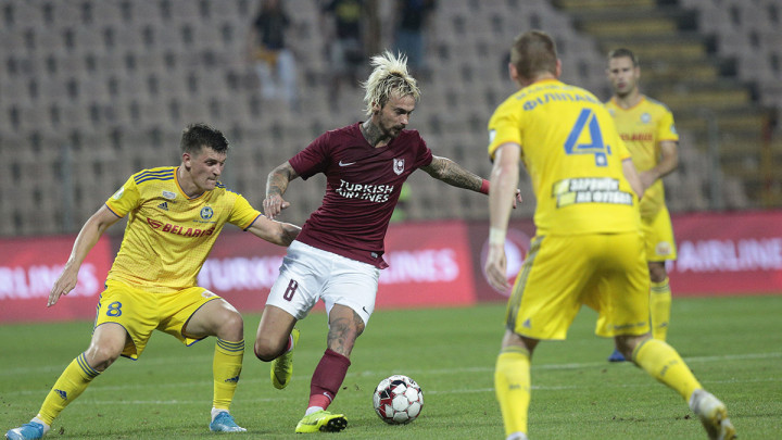 Šta pokazuje statistika meča FK Sarajevo - BATE Borisov?
