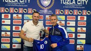 Nermin Hodžić završio saradnju sa FK Tuzla City