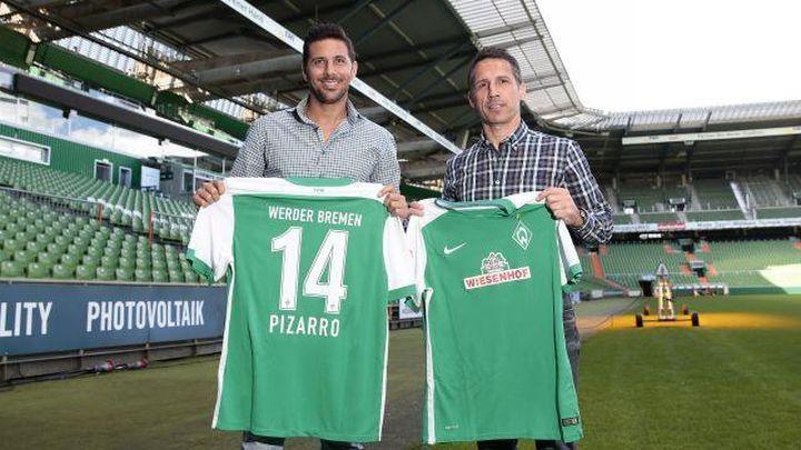 Pizarro po treći put u Werderu