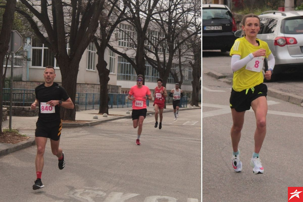 Ognjen Stojanović i Ana Štefulj pobjednici Mostarskog polumaratona