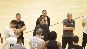 Andrea Trinchieri održao prvi trening s KK Partizan nakon dva mjeseca