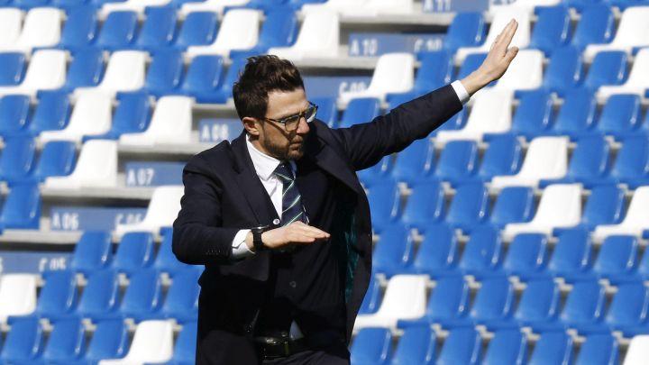 Trener Sassuola se nudi Romi