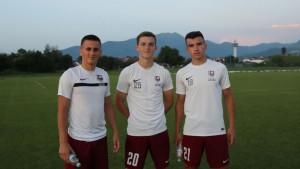 Tri nova lica na treningu FK Sarajevo