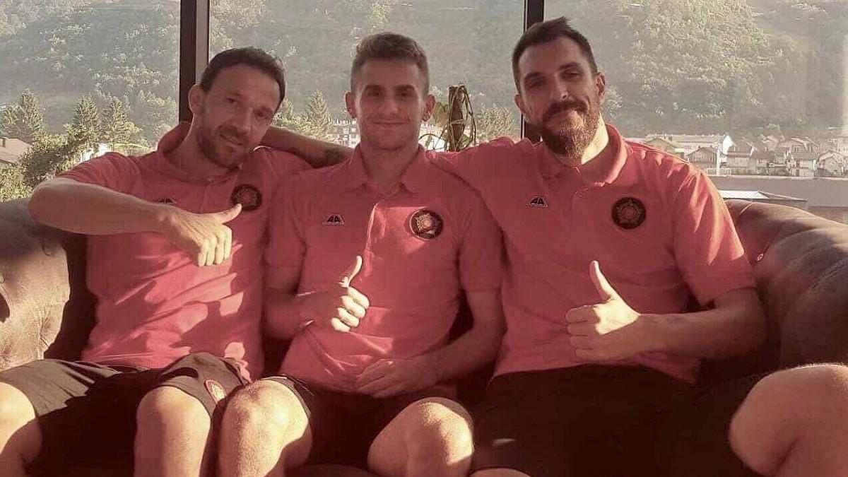 Vasiljević, Ivetić i Musić i pored napornih treninga u dobrom raspoloženju